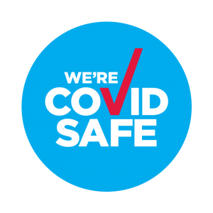 We are Covid 19 safe